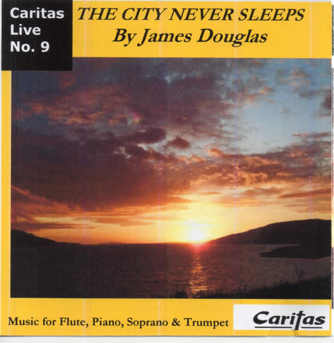 The City Never Sleeps CD by James Douglas