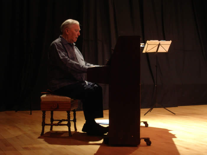 Composer James Douglas at The Macphail Theatre in 2009